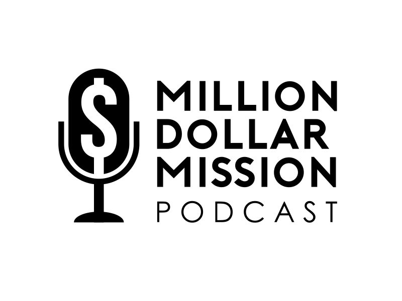 Million Dollar Mission Podcast logo design by serprimero