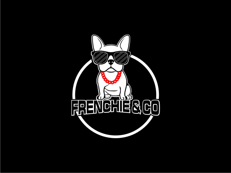 Frenchie & Co logo design by BintangDesign