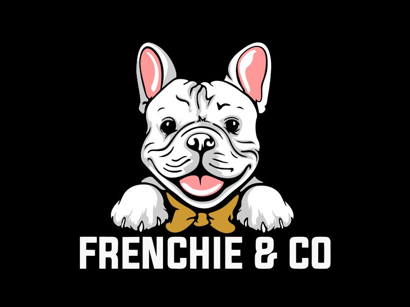 Frenchie & Co logo design by veron