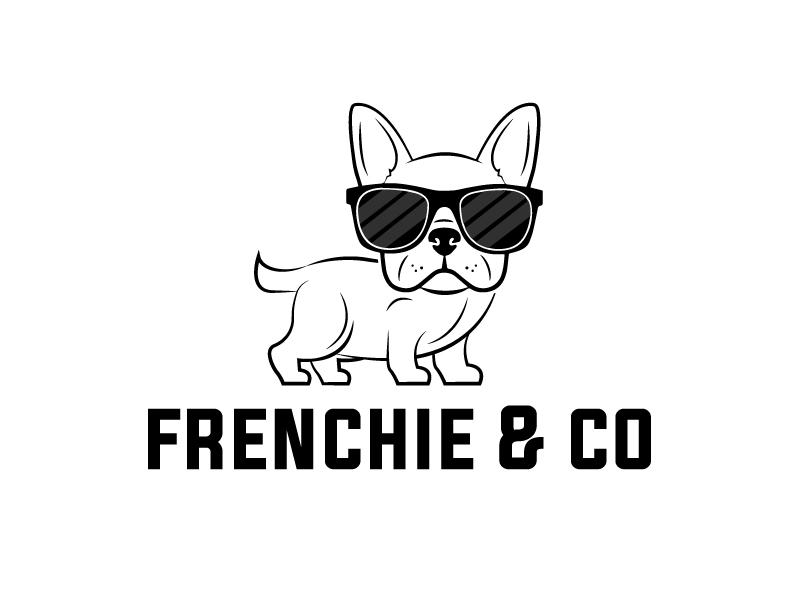 Frenchie & Co logo design by Kirito
