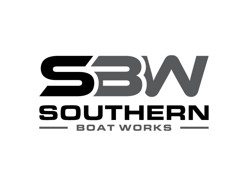 Southern boat works logo design by DreamCather