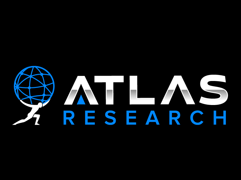 Atlas Research logo design by jaize