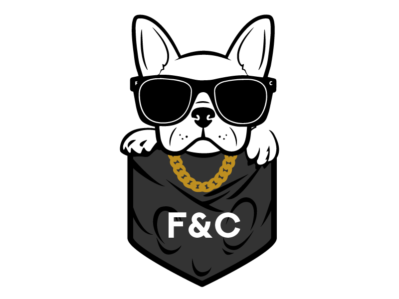 Frenchie & Co logo design by jaize