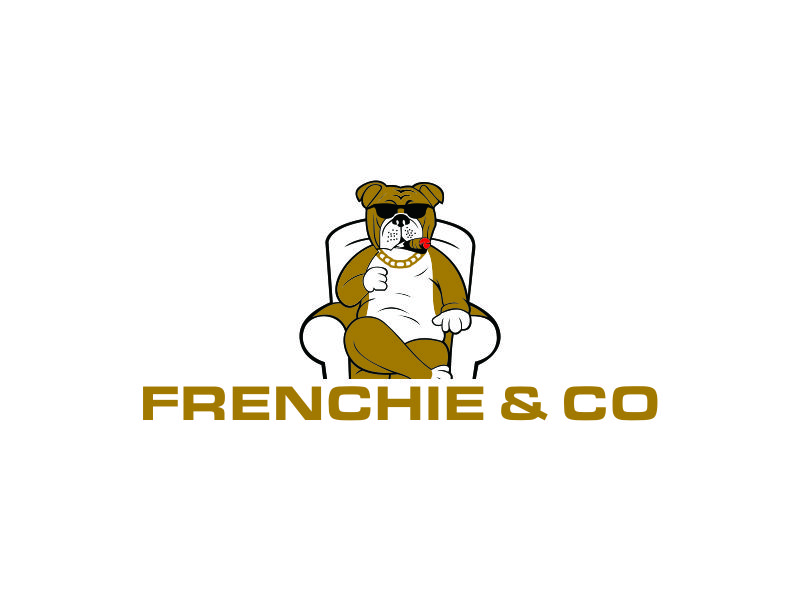 Frenchie & Co logo design by azizah