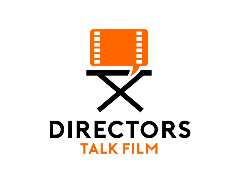 Directors Talk Film logo design by serprimero