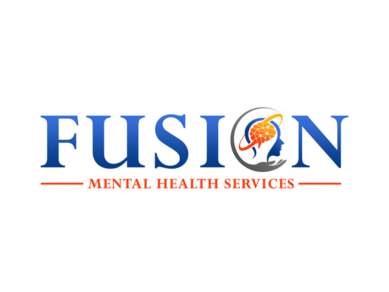 Fusion Mental Health Services logo design by ingepro