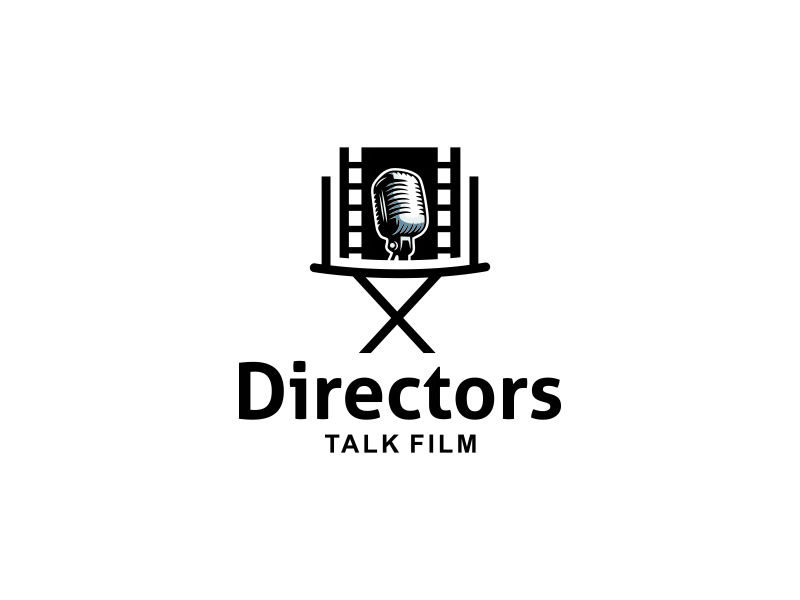 Directors Talk Film logo design by Wi Bowo