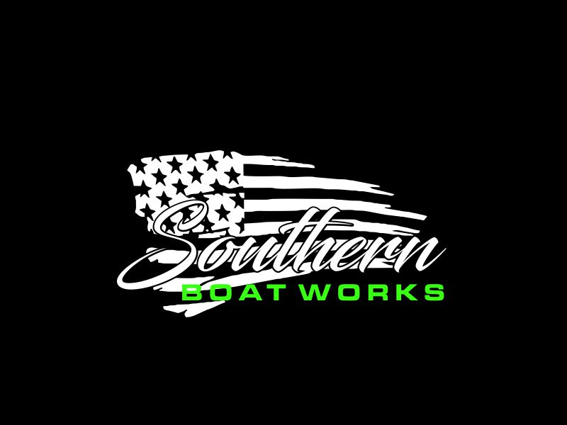 Southern boat works logo design by oke2angconcept