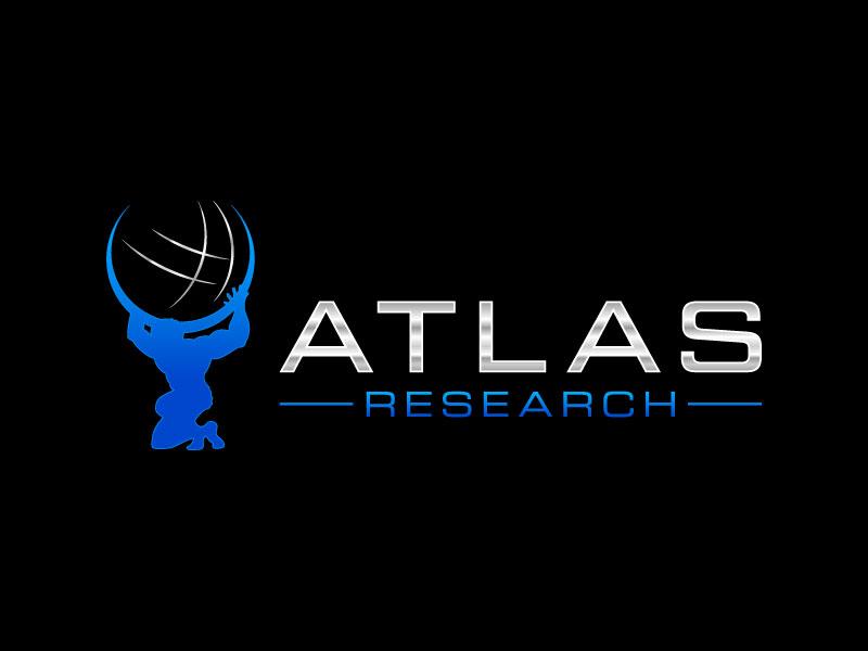 Atlas Research logo design by lestatic22