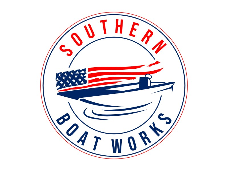 Southern boat works logo design by rgb1