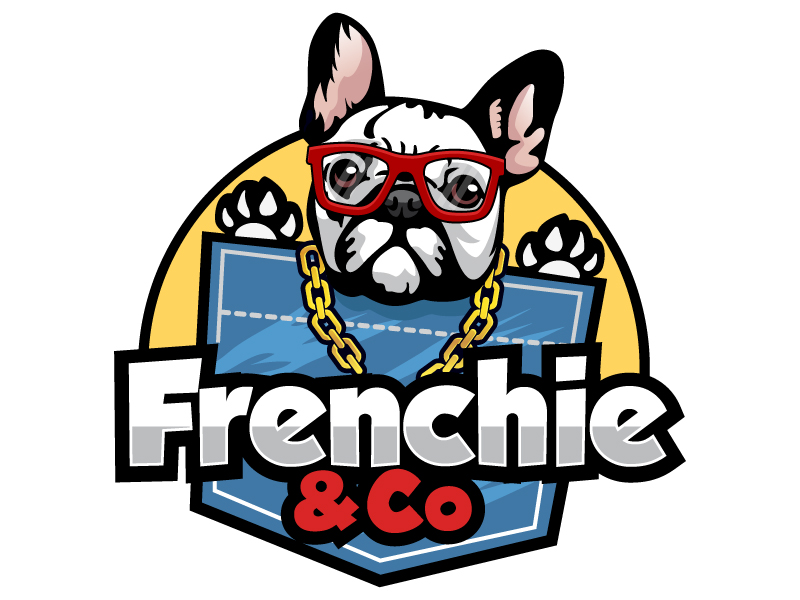 Frenchie & Co logo design by LucidSketch