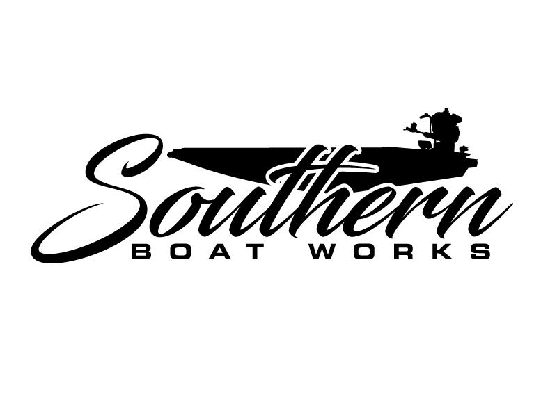 Southern boat works logo design by LucidSketch