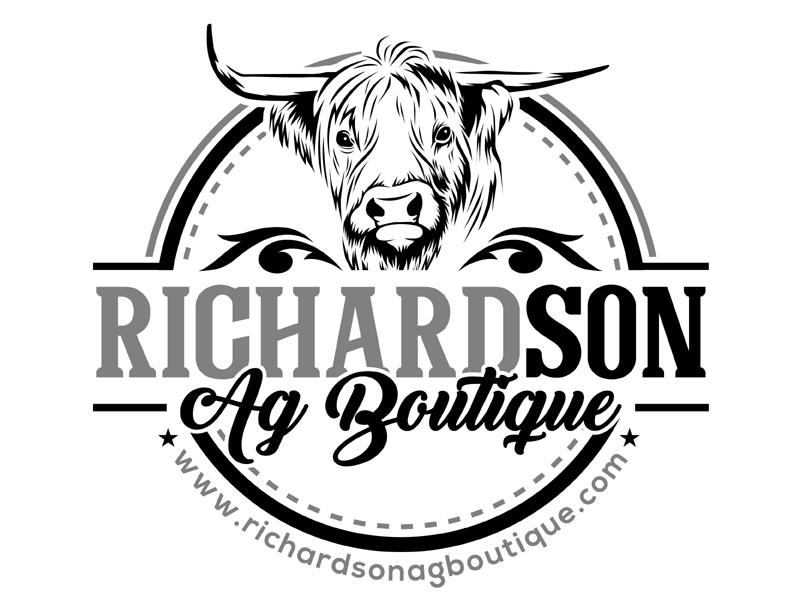 Richardson Ag Boutique logo design by MAXR