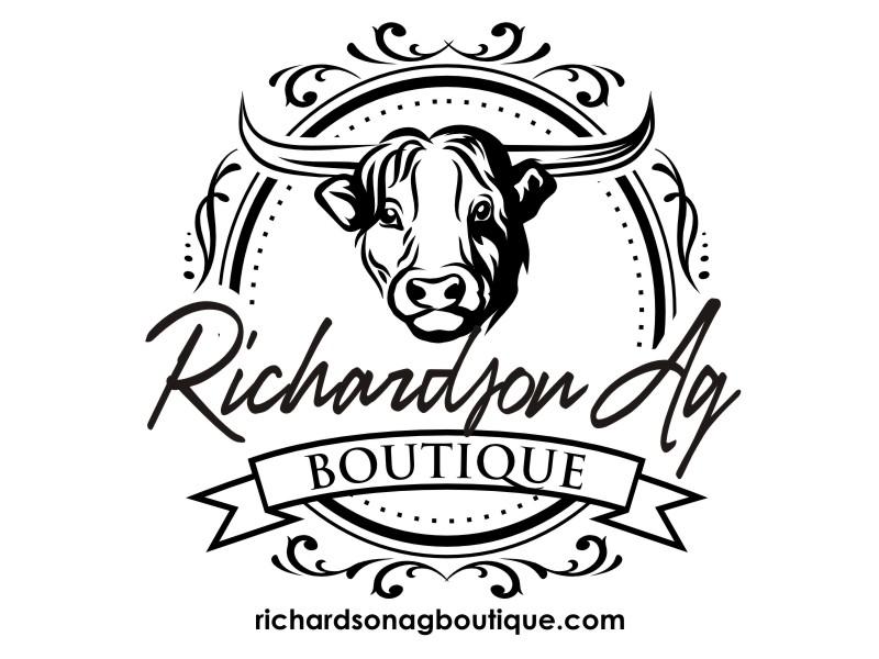 Richardson Ag Boutique logo design by haze