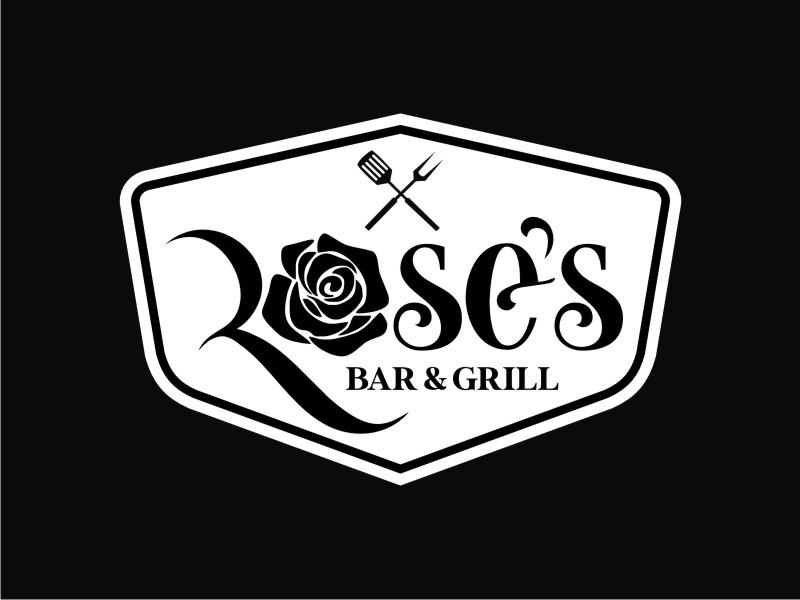 Rose's Bar & Grill logo design by mai