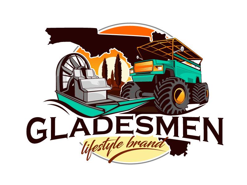 Gladesmen logo design by usashi