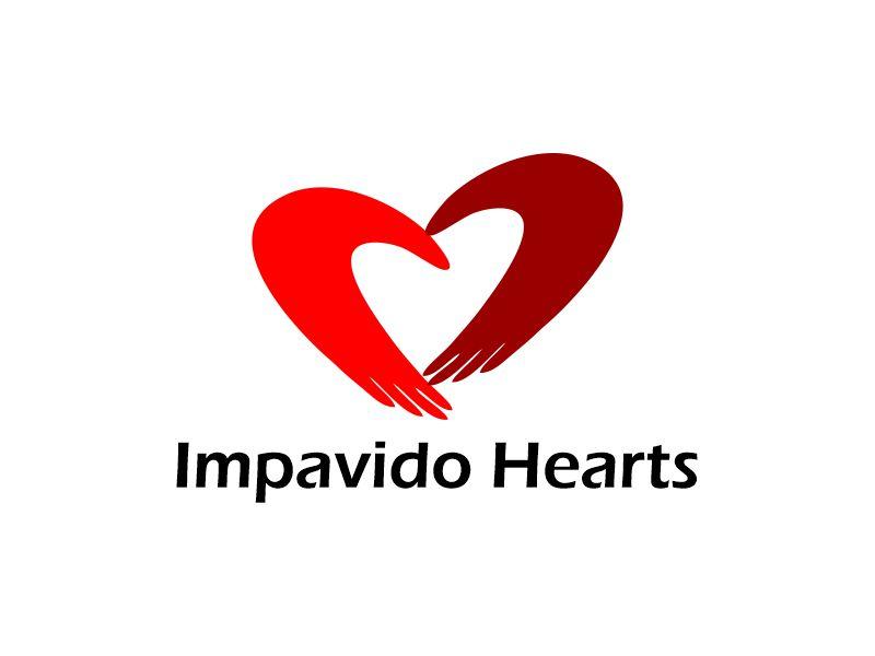 Impavido Hearts logo design by Gwerth