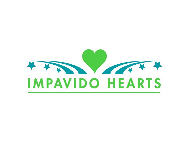 Impavido Hearts logo design by pilKB