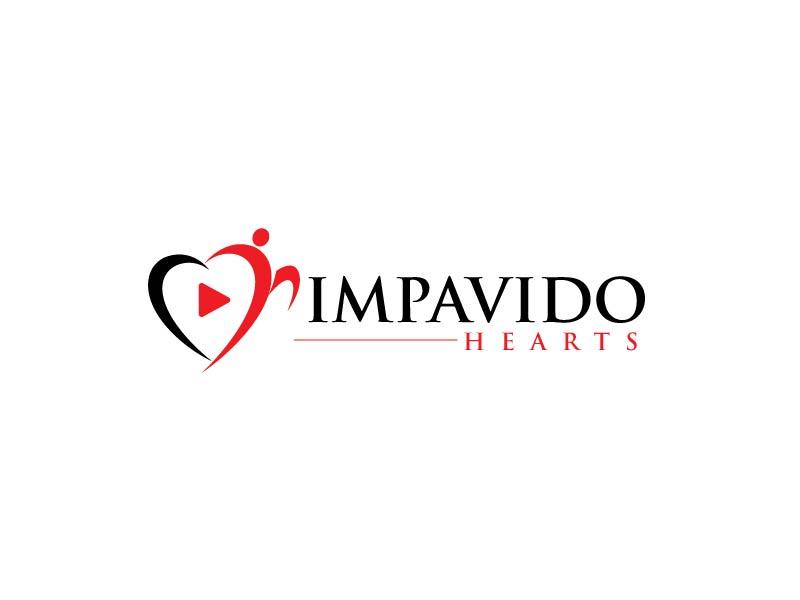Impavido Hearts logo design by usef44