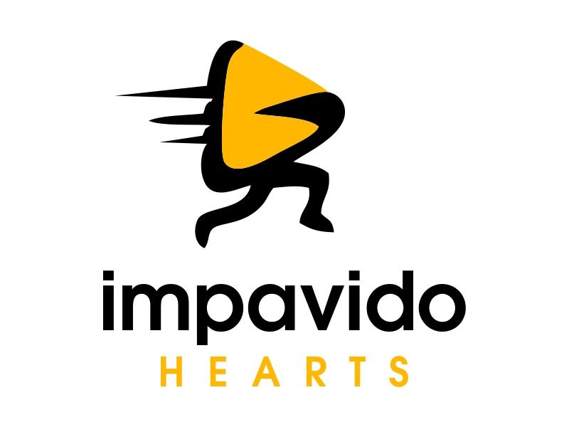 Impavido Hearts logo design by JessicaLopes