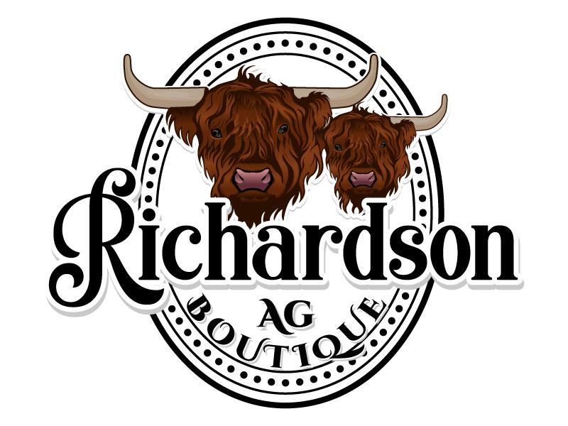 Richardson Ag Boutique logo design by LogoQueen