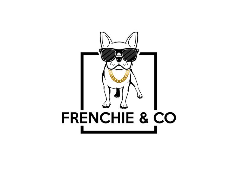 Frenchie & Co logo design by PrimalGraphics