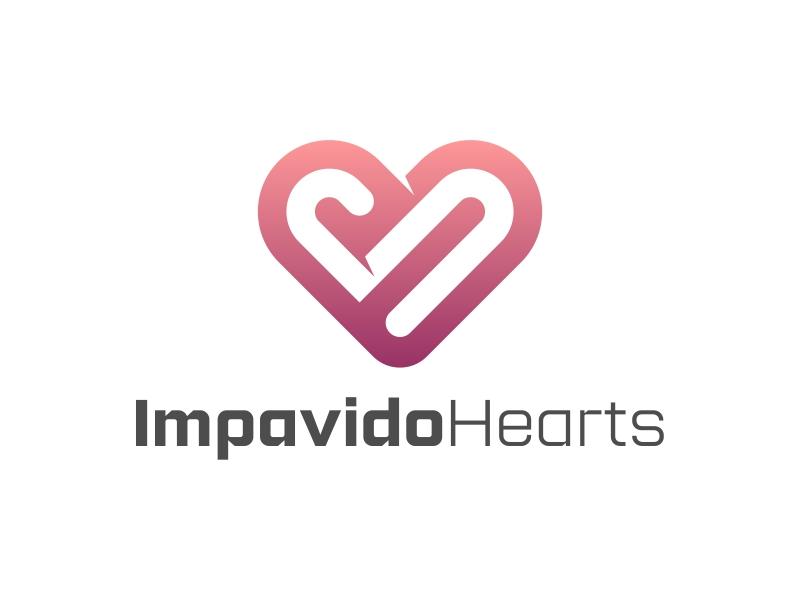 Impavido Hearts logo design by ekitessar
