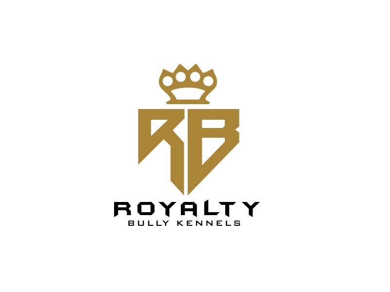 Royalty Bully Kennels logo design by usef44