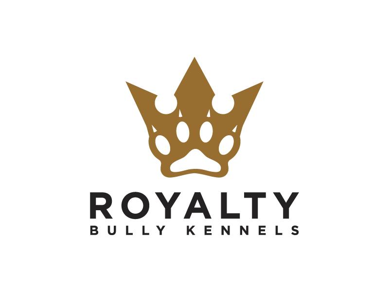 Royalty Bully Kennels logo design by jonggol