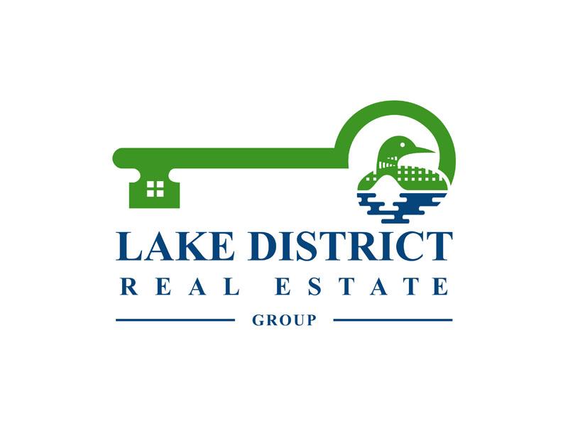 Lake District Real Estate Group Logo Design