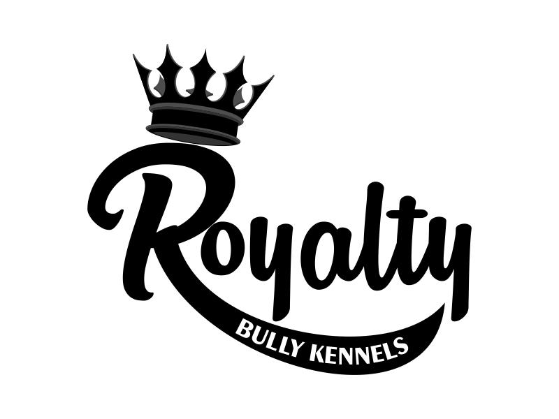 Royalty Bully Kennels logo design by Kruger