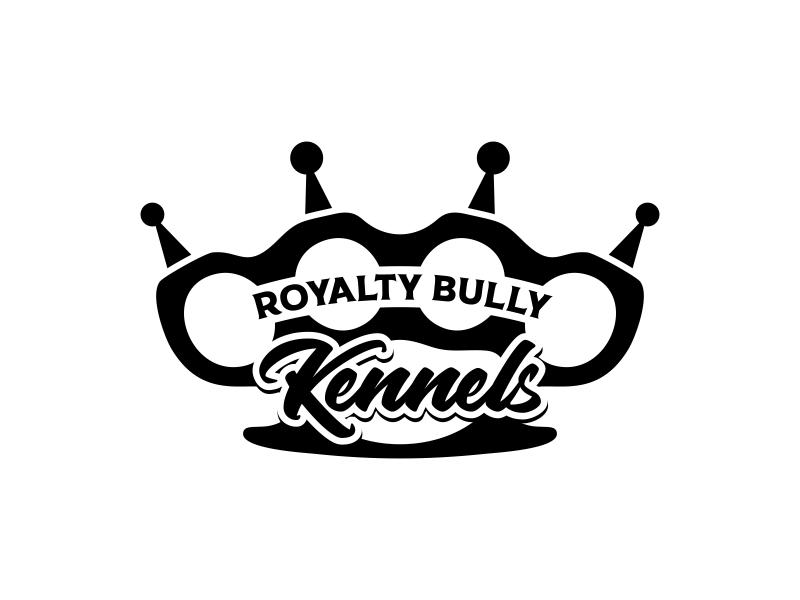 Royalty Bully Kennels logo design by ekitessar