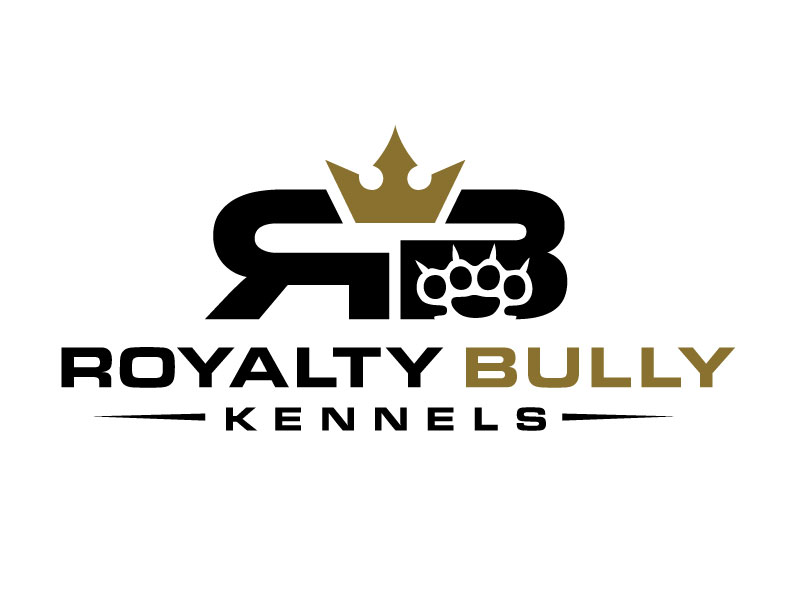 Royalty Bully Kennels logo design by REDCROW