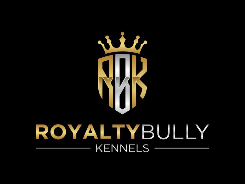 Royalty Bully Kennels logo design by javaz™