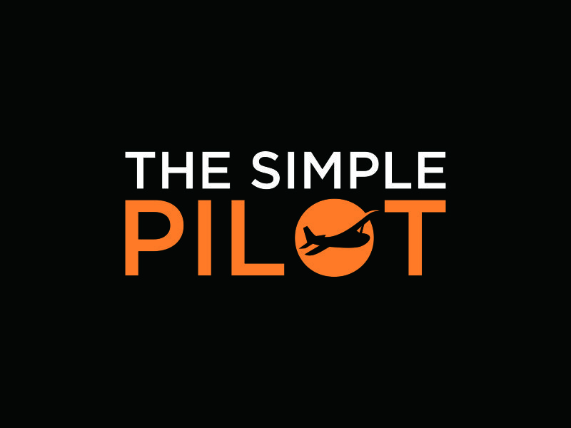 The Simple Pilot logo design by blessings