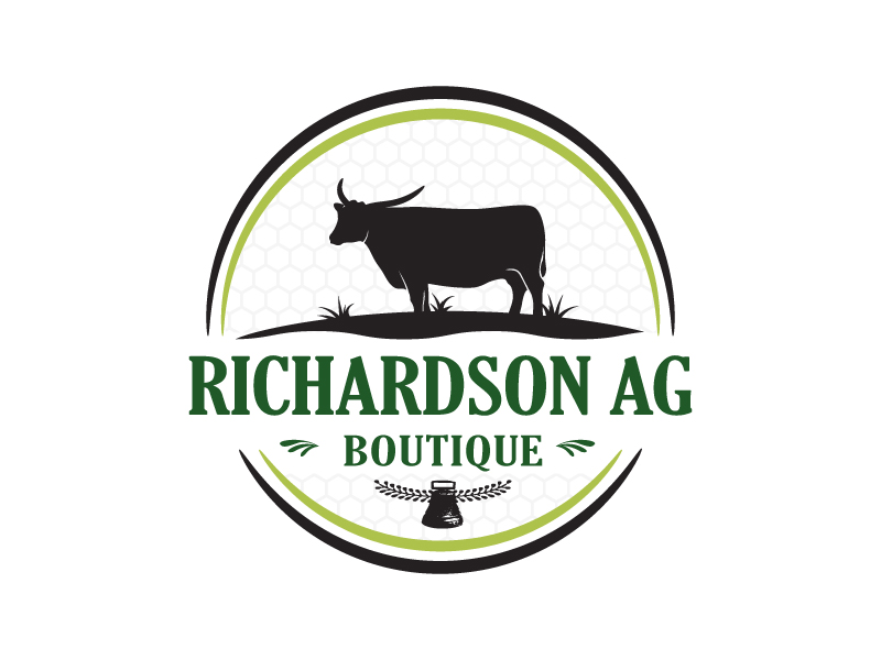 Richardson Ag Boutique logo design by NadeIlakes