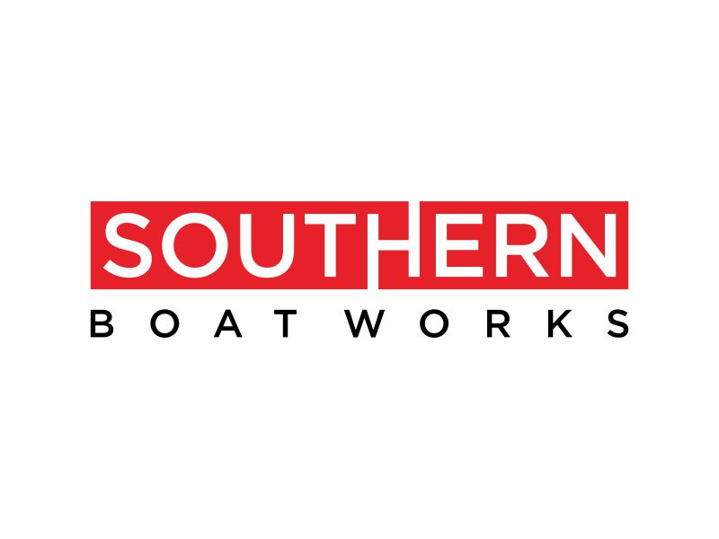 Southern boat works logo design by ora_creative