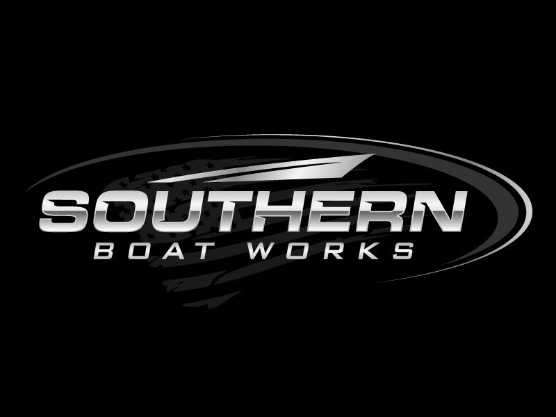 Southern boat works logo design by jaize