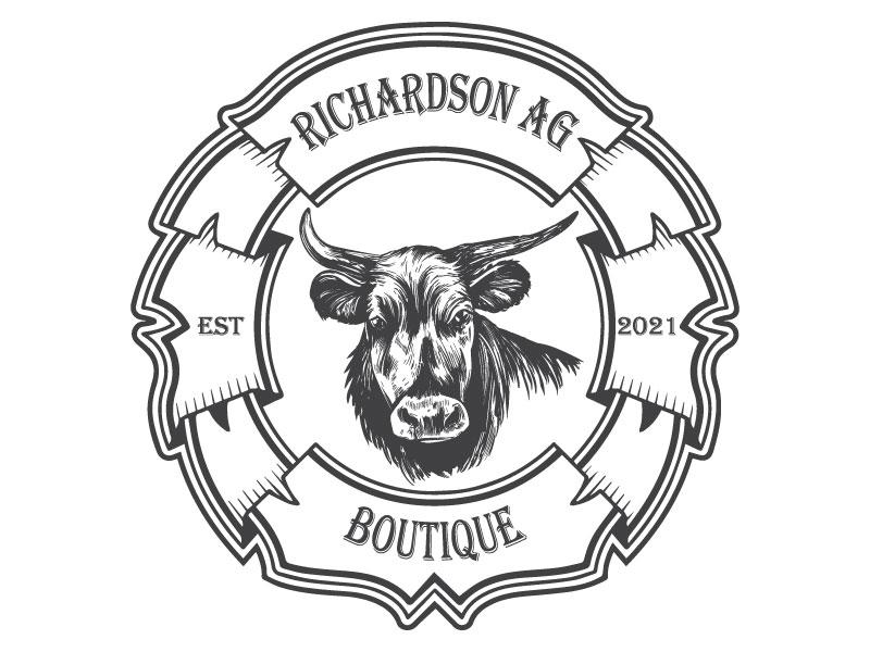 Richardson Ag Boutique logo design by nona