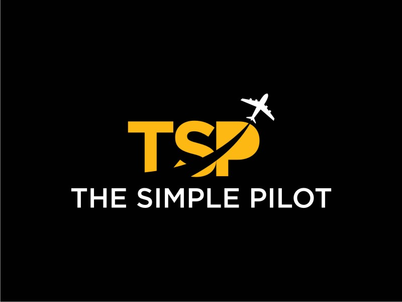The Simple Pilot logo design by uptogood