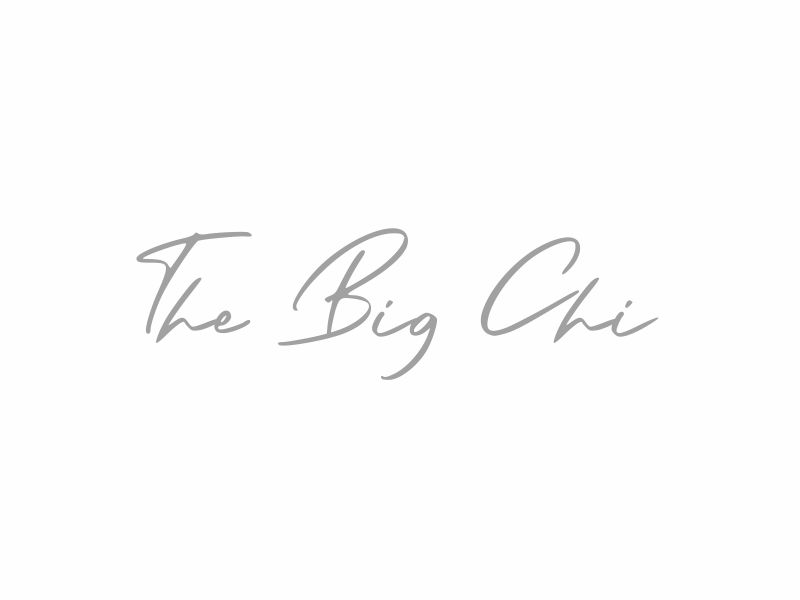 The Big Chi logo design by giphone