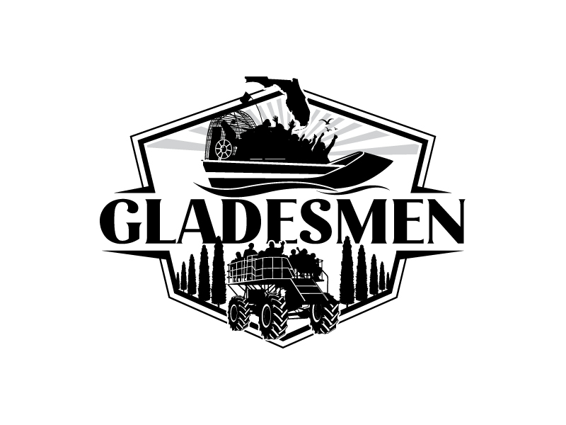 Gladesmen logo design by uttam
