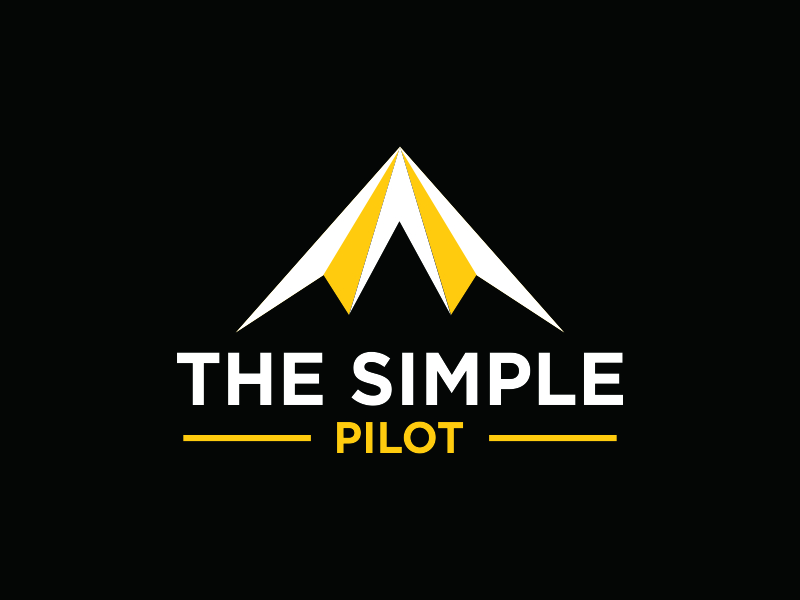 The Simple Pilot logo design by Greenlight