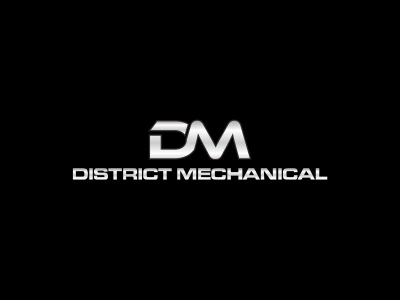 District Mechanical logo design by hopee