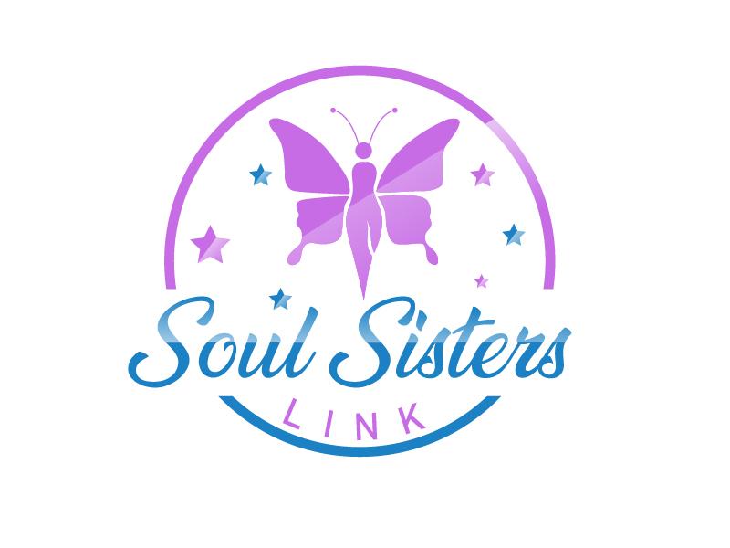 Soul Sisters Link logo design by Shailesh