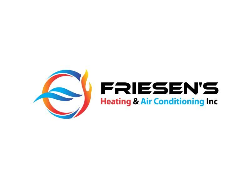 Friesen's Heating & Air Conditioning Inc logo design by dweedeku
