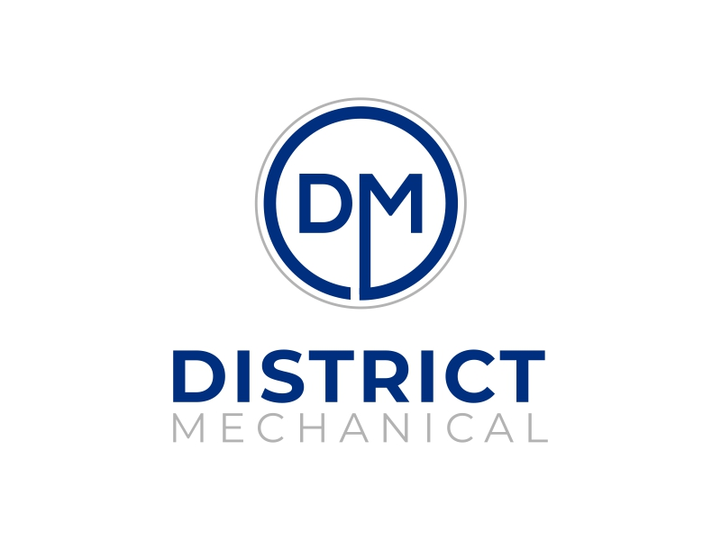 District Mechanical logo design by ingepro