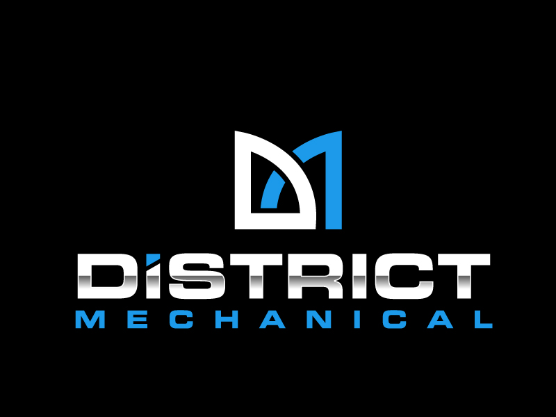 District Mechanical logo design by jaize