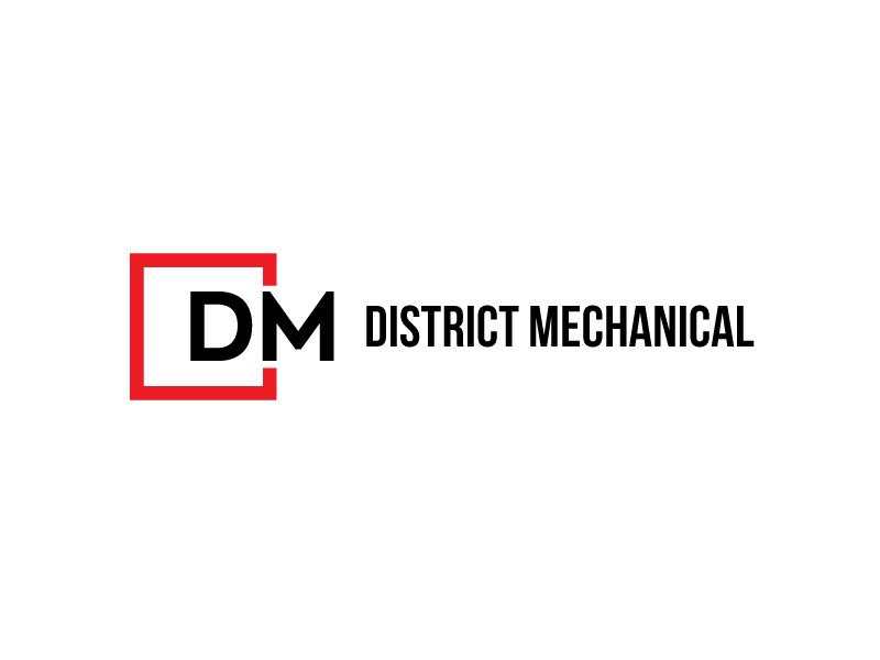 District Mechanical logo design by PRN123