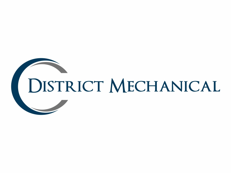 District Mechanical logo design by Greenlight